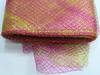 Регилин с люрексом RGL16-34 (розовый) Цена за 30ярд.(27,4м)