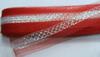 Регилин с люрексом RGL5-4-1(красный) Цена за 23ярд.(21м)