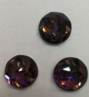 Стразы стекло пришивные ST02-A35 (фиолетовый) Цена за 28 шт