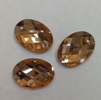 Стразы стекло пришивные ST03-A11 (светло коричневый) Цена за 24 шт