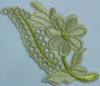 Аппликация цветок ZV25-24 (бежевый) Цена за 10шт.