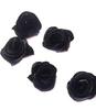 Цветы пришивные КЦ277-3 (черный) Цена за 50 шт