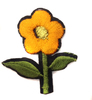 Аппликации цветок AP039-31 (оранжевый) Цена за 10 шт