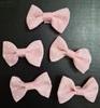 Бантики  из репсовой ленты BK2-34 (розовый) Цена за 12 шт