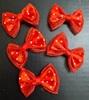 Бантики атлас BKAM2-4 (красный) Цена за 12 шт