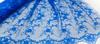 Кружевное полотно TK3-11 (синий) Цена за 1 метр