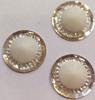 Стразы пришивные SPKK01-15mm (белый) Цена за 30 шт