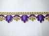 Тесьма декоративная TDS39-43 (фиолетовый)
