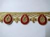 Тесьма декоративная 10391-4 (красный)