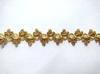 Тесьма декоративная 5176-84 (желтое золото)