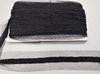 Тесьма с бисером NF14H56-3 (черный)