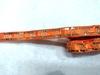 Тесьма с пайетками декоративная TDP3-32-8Y (оранжевый)