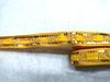 Тесьма с пайетками декоративная TDP3-10-8Y (темно желтый)