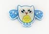 Аппликации пришивные сова АК245-16 (голубой) Цена за 4 шт