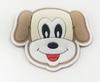 Аппликации пришивные собака АК196-28 (бежевый) Цена за 4 шт