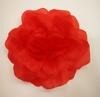 Цветы на булавке Ts1-4 (красный) Цена за 12 шт